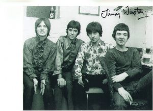 Rare Signed 10 x 8 Photograph of Jimmy Winston Doctor Who & Small Faces